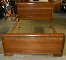 Vintage Art Deco Waterfall Style Full Queen Bed