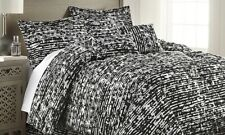 Hotel 5th Ave Bamboo Print 6 Pc King Size Comforter Set, Black - $79.99