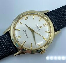 Vintage Gold Omega Mens Seamaster Automatic Wrist Watch in Superb Condition