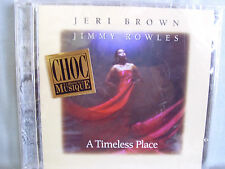 Jeri Brown/ Jimmy Rowles- A Timeless Place- OVP (Cut-Out)