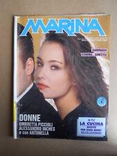 MARINA n°372 1992 Rivista di Fotoromanzi ed. LANCIO [G830]