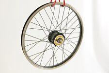 "20"" SHIMANO NEXUS DH-2N20C-DT DYNAMO HUB FRONT WHEEL BLACK RIM SHOPPER FOLDER"