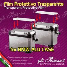 2 Pellicole protettive trasparente Valigie Laterali BMW R 1200 F 800 ANTIGRAFFIO