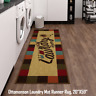 "Ottomanson Laundry Mat Runner Rug, 20""X59"", Multicolor, Stain-Resistant"