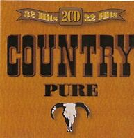Country Pure-32 Hits Nashville Music Company, Floyd Cramer, Greg Barret.. [2 CD]