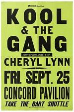 Poster Kool & The Gang with Special Guest Star Cheryl Lynn Fri Sept 25 Concord