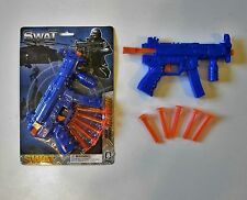 1 NEW TOY DART GUN SWAT COMMANDO POLICE ACTION DARTS PISTOL REVOLVER