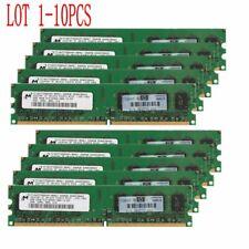 16GB 8GB 4GB 2GB DDR2-800Mhz PC2-6400 240Pin DIMM Desktop Memory For Micron CA