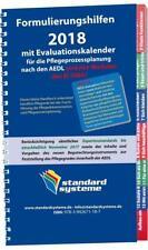 Formulierungshilfen 2018 für die Pflegeprozessplanung nach den AEDL (2017, Taschenbuch)