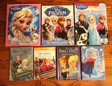 Set of 7 Disney Frozen Posters Elsa Olaf Anna Girl Princess