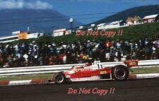 Gilles Villeneuve Ferrari 312 T2 Japanese Grand Prix 1977 Photograph 4