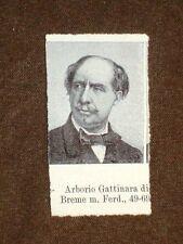 Deputato nel 1861 Arborio Gattinara di Breme e Giovanni Malvezzi di Bologna