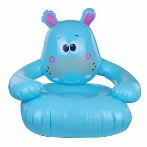 Jilong Hippo 78x70x66 cm Kindersessel Kinder Sitzsack Sitzkissen Kindersofa