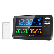 ORIA_Weather Digital LCD Indoor Thermometer Hygrometer Room Temperature Humidity