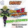 🌟 iOS - Dokkan Battle - Broly PHY 1000+ Dragon Stones - Fresh GLOBAL