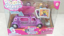 Blip Toys Squinkies Playset Hollywood Limo Doll NIP RARE HTF