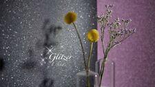 EUR 2,25/qm / Tapete Erismann Crystal Colours 6314-15 Glitzereffekt Schwarz