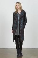 💕NWT! Johnny Was BIYA Embroidered SHANTA Cardigan LONG Hooded Knit DUSTER S 💕