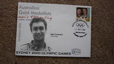 2000 SYDNEY OLYMPIC GAMES AUSTRALIAN GOLD MEDAL WIN COVER, MENS SAILING