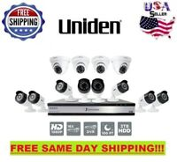 Uniden G71684D3 16 Channel 12 Cam 1080p Wired Security System 100′ Night Vision