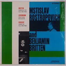 ROSTROPOVICH & BRITTEN: Cello / Piano CS 6237 London SEALED Vinyl LP