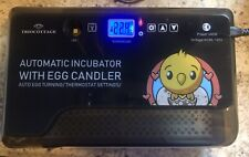 Egg Incubator with Automatic Egg Turning Turner for Ducks Goose Quail Chicken