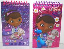 Doc McStuffins NOTEPAD PARTY FAVORS FOR CANDY BAGS GIFTS PRINCESS CUDDLE FOIL