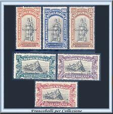 1918 San Marino  Vittoria Serie completa n. 63/68 Nuovi Integri **
