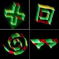 SUNY DMX 3D Effects RGY Red Green Yellow Laser DJ Pub Light Gig Show TDM-RGY250