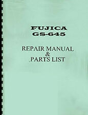 Fuji Fujica GS645, GS-645 Camera Service & Repair Manual