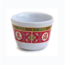 4 x CHINESE MELAMINE TEA CUP