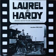 LAUREL AND HARDY - ANOTHER FINE MESS - MARK 56 LABEL - LP SOUNDTRACK -
