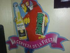 Corona metal beer sign