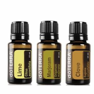 doTERRA Marjoram Lime Clove Therapeutic Grade Pure Essential Oil Aromatherapy