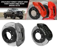 Wilwood Front & Rear Brake Kit fits 2013-2017 Ford F-250 & F-350 Super Duty,4X4