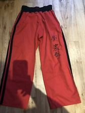 """Martial Arts Red Trousers Size 30"""""""