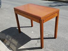 Table A Jeux Or Lunch Transforming Scandinavian Teak 1960 Vintage Danish