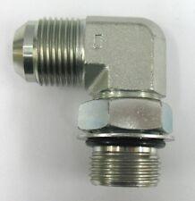 AF C5515-06-06 - 3/8 Male JIC x 3/8 Male O-Ring Boss - 90° Straight Thread Elbow