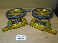 DUCATI 916 748 996 848 998 MONSTER S4R S4RS BERINGER DUAL DISCS AND CALIPERS  81