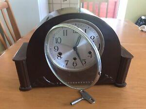 Vintage Haller Chiming Clock , German . See Listing Details.