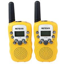Mini-talkie-walkie pour enfants de Noël Retevis Radio bidirectionnelle UHF 8CH