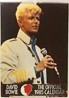 DAVID BOWIE 1985 OFFICIAL CALENDAR  unused