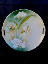R. S. Germany - White Rose Pattern - Plate
