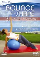 Nuovo Gymball - Bounce in Forma 3 in 1 Allenamento DVD