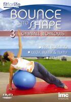 Nuovo Gymball - Bounce Into Forma 3 IN 1 Allenamento DVD