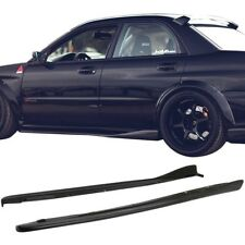 Chargespeed CS Side Skirts Urethane WRX STI 2002-2007 PU