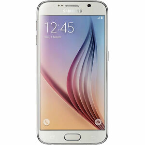 "Samsung Galaxy G920F S6 NFC 5.1"" gorilla glass ANDROID 5 QUAD CORE 1.7GHz white"