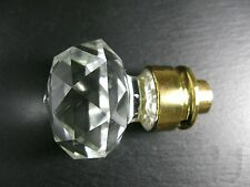 GLAS Kristall Türgriff Vitrinen Knauf Mid Century Crystal Door Handle ~ 1950 ...