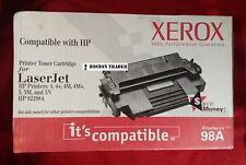 XEROX 92298A 98A TONER CARTRIDGE HP LASER JET PRINTER 4 4+ 4M+ 5 5M 5N APPLE 16
