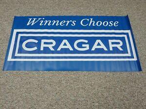 CRAGAR BANNER WINNERS CHOOSE CRAGAR VINYL BANNER CRAGAR SS WHEEL